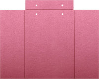 "Crimson Red Metallic Gatefold Card 105 lb, 5"" x 7"" - Paperandmore.com"