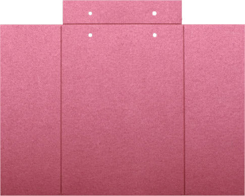 Crimson Red Metallic Gatefold Card 105 lb, 5
