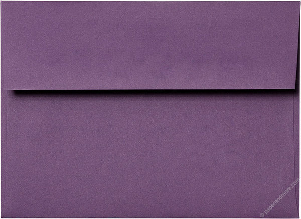 "A-7 Dark Purple Solid Envelopes (5 1/4"" x 7 1/4"") - Paperandmore.com"