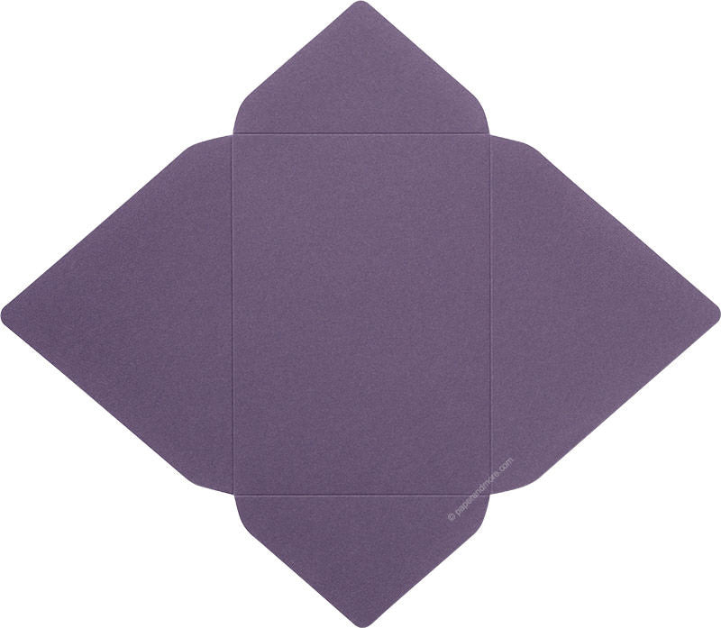 Dark Purple Solid - A-7 Euro Flap Card Enclosure