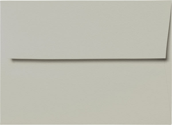 "A-7 Gray Cotton Envelopes (5 1/4"" x 7 1/4"") - Paperandmore.com"