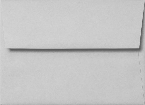 "A-7 Gray Smoke Solid Envelopes (5 1/4"" x 7 1/4"") - Paperandmore.com"