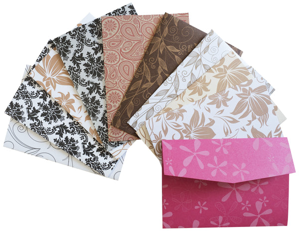 A7 Patterned Himalaya Pocket Cards Sampler Pack - Paperandmore.com