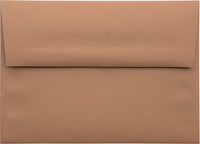 "A-9 Kraft Brown Raw Recycled Envelopes (5 3/4"" x 8 3/4"")"