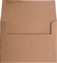 "A-2 Kraft Brown Raw Recycled Envelopes (4 3/8"" x 5 3/4"")"