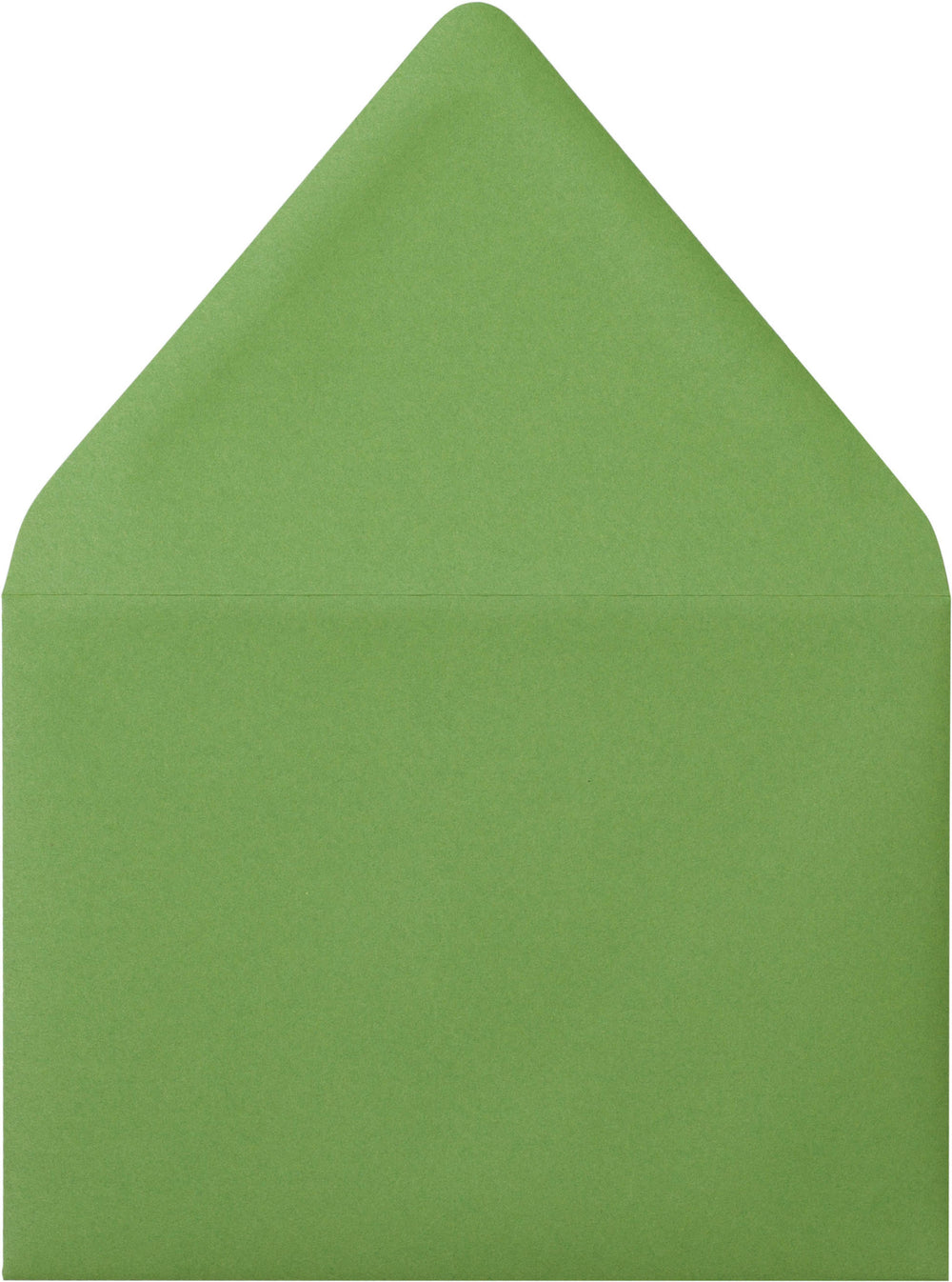 "A-2 Meadow Green Solid Euro Flap Envelopes (4 3/8"" x 5 3/4"")"