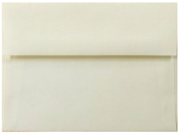 "A-2 Natural Parchment Envelopes (4 3/8"" x 5 3/4"") - Paperandmore.com"