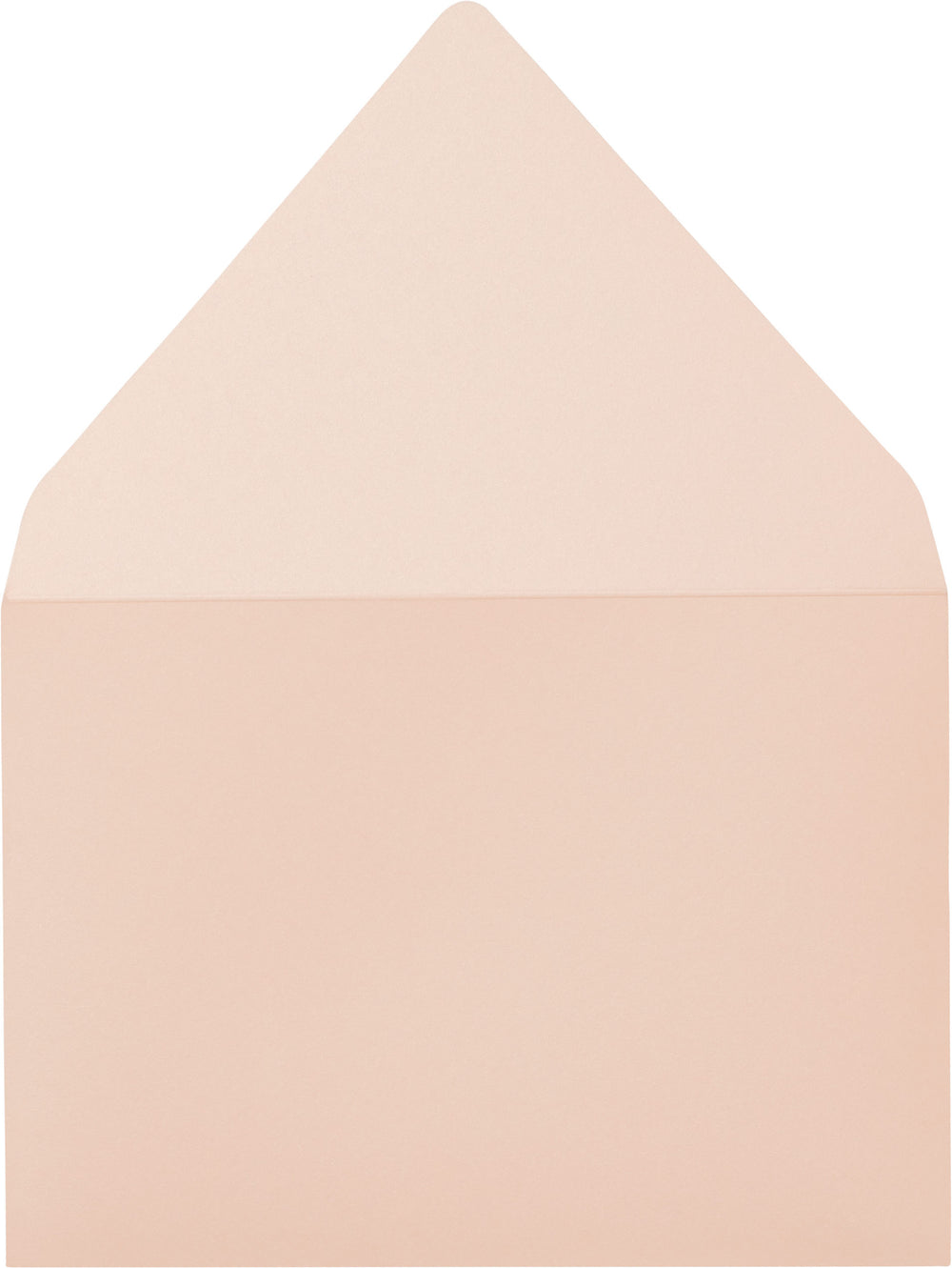 Peach (Coral) Metallic - A-7 Euro Flap Card Enclosure