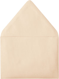 "A-7 Peach (Coral) Metallic Euro Flap Envelopes (5 1/4"" x 7 1/4"") - Paperandmore.com"