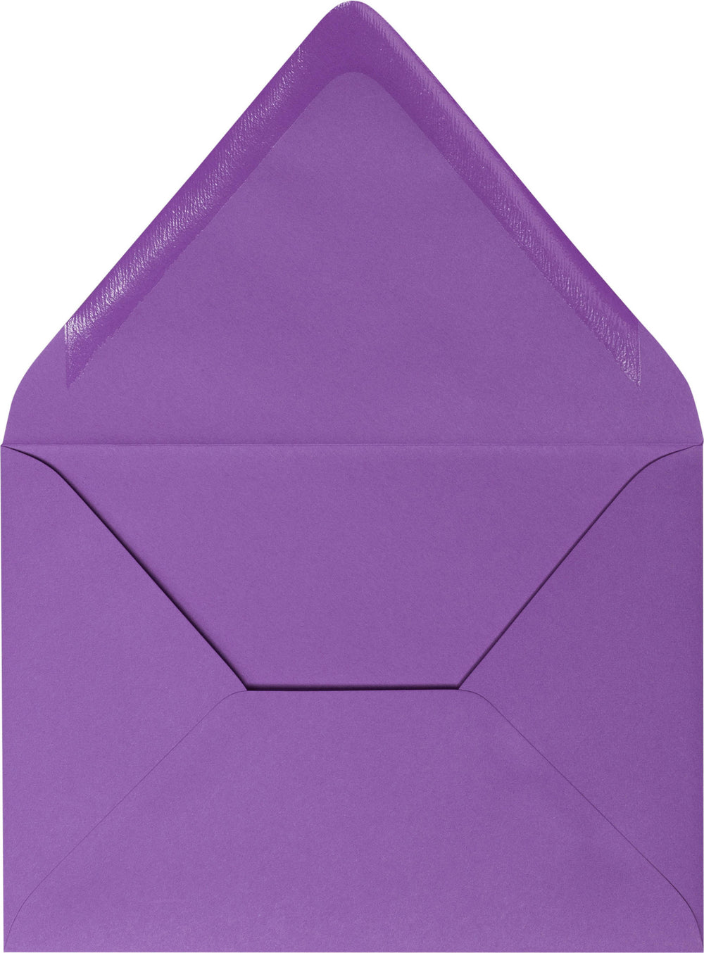 "A-7 Purple Grape Solid Euro Flap Envelopes (5 1/4"" x 7 1/4"")"