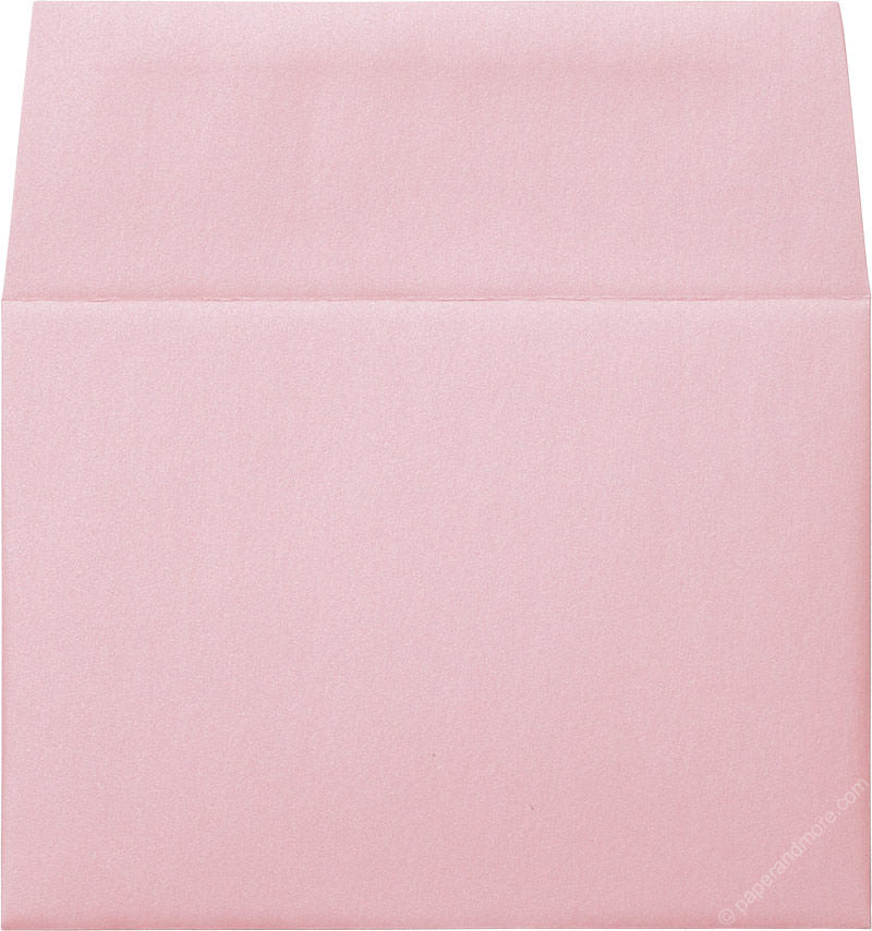 "A-7 Rose Pink Metallic Envelopes (5 1/4"" x 7 1/4"")"