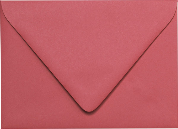 A-7 Rosebud Pink Solid Euro Flap Envelopes