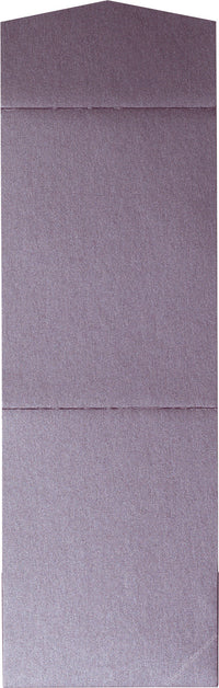 Ruby Purple Metallic Pocket Invitation Card, A7 Cascade - Paperandmore.com