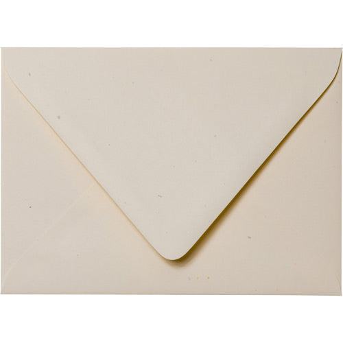 "A-2 Sand Specks Recycled Euro Flap Envelopes (4 3/8"" x 5 3/4"") - Paperandmore.com"