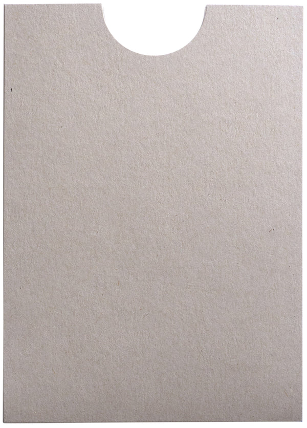 Concrete Gray Kraft 100 lb Raw Recycled Sleeve, 5