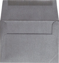 "A-7 Steel Gray Metallic Envelopes (5 1/4"" x 7 1/4"") - Paperandmore.com"