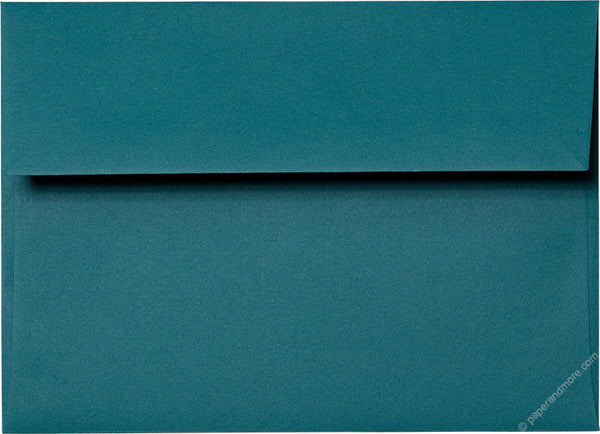 A-7 Teal Solid Envelopes (5 1/4