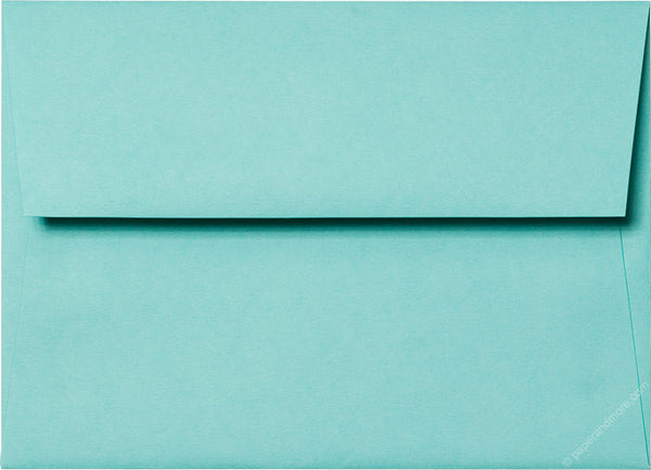 A-7 Tiffany Blue Solid Envelopes (5 1/4