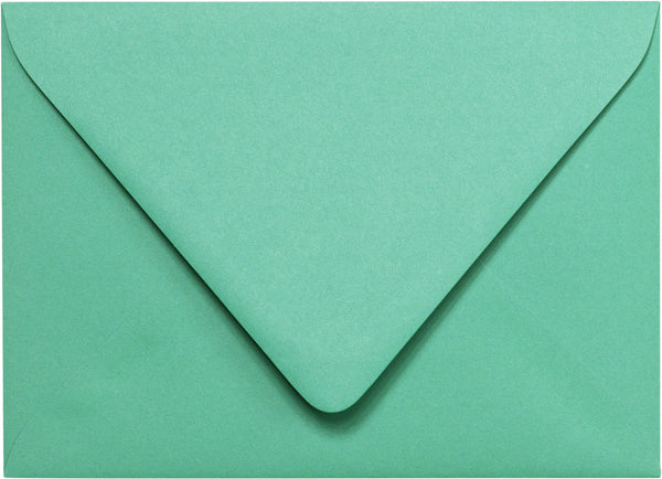 "Outer A-7.5 Solid Tiffany Blue Euro Flap Envelopes (5 1/2"" x 7 1/2"") - Paperandmore.com"