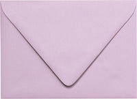 "A-1 (4 Bar) Wisteria Purple Solid Euro Flap Envelopes (3 5/8"" x 5 1/8"")"
