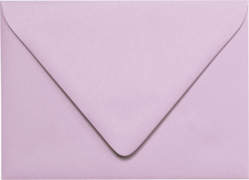 "A-1 (4 Bar) Wisteria Purple Solid Euro Flap Envelopes (3 5/8"" x 5 1/8"") - Paperandmore.com"