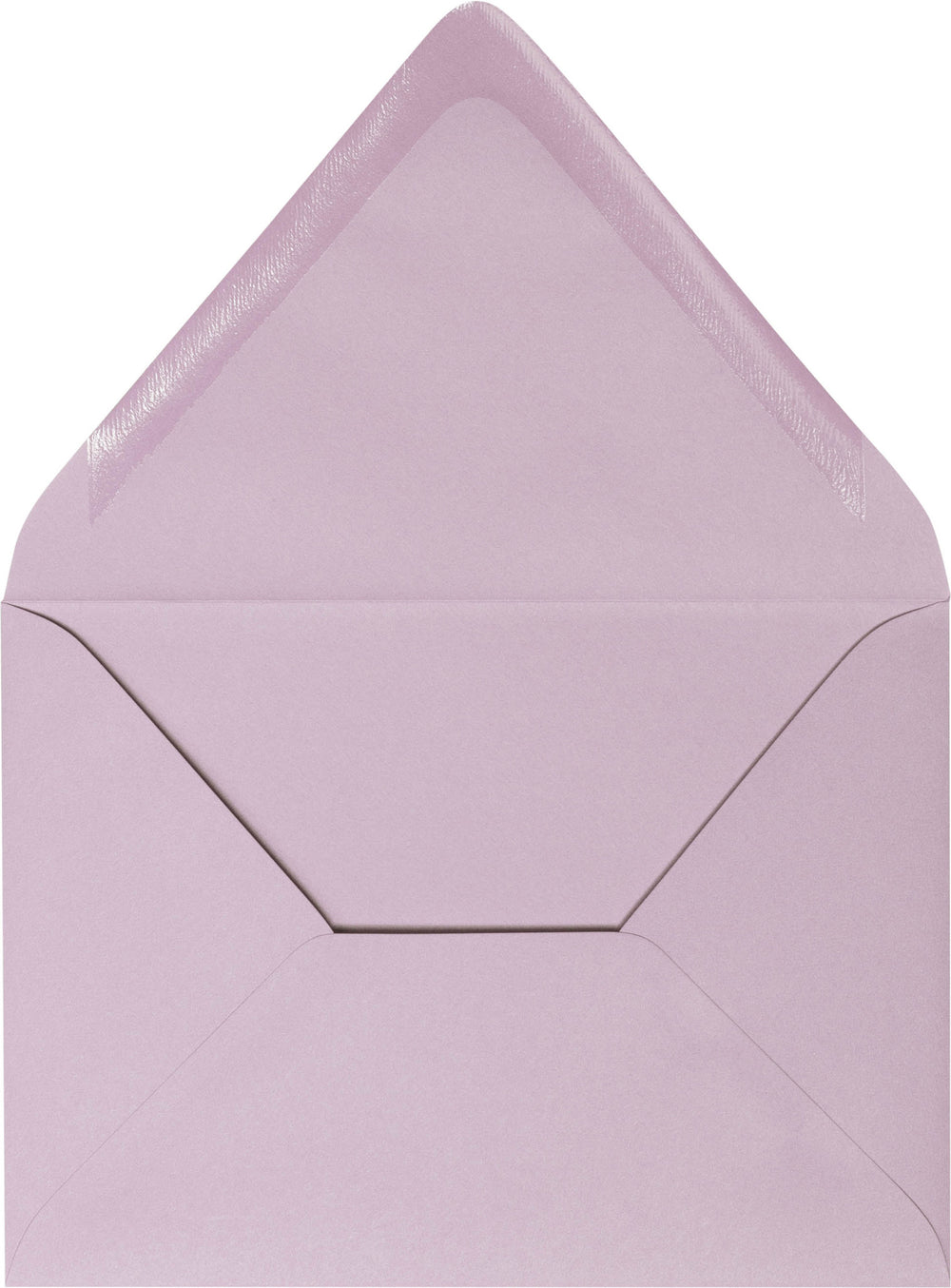 "A-2 Wisteria Purple Solid Euro Flap Envelopes (4 3/8"" x 5 3/4"")"