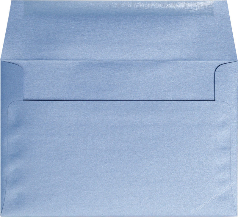 "A-9 Blue Vista Metallic Envelopes (5 3/4"" x 8 3/4"") - Paperandmore.com"