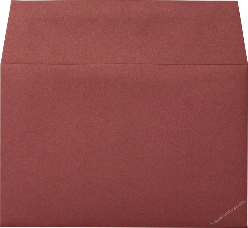 "A-9 Burgundy Solid Envelopes (5 3/4"" x 8 3/4"") - Paperandmore.com"