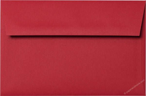 "A-9 Cherry Red Solid Envelopes (5 3/4"" x 8 3/4"") - Paperandmore.com"