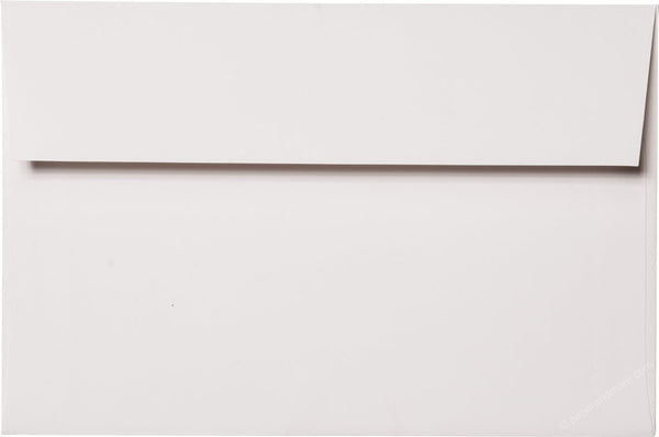 "A-9 Classic White Solid Envelopes (5 3/4"" x 8 3/4"") - Paperandmore.com"