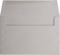 "A-1 (RSVP) Concrete Gray Kraft Raw Recycled Envelopes (3 5/8"" x 5 1/8"")"