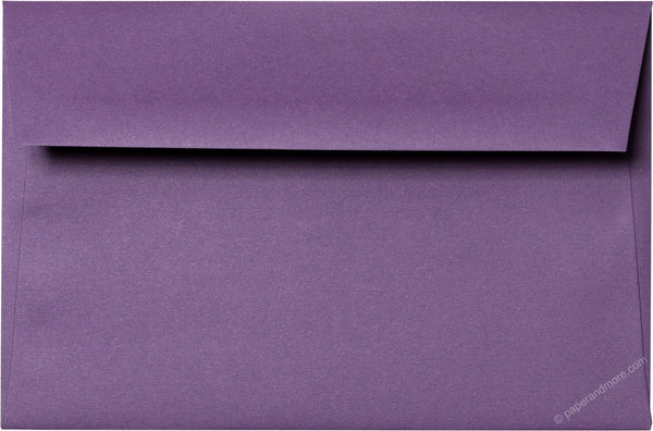 "A-9 Dark Purple Solid Envelopes (5 3/4"" x 8 3/4"") - Paperandmore.com"