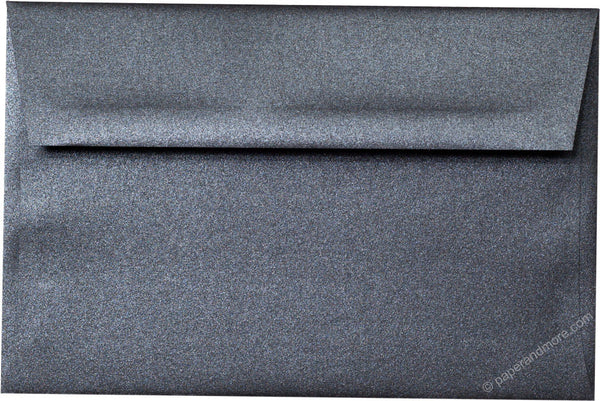 "A-9 Onyx Metallic Envelopes (5 3/4"" x 8 3/4"") - Paperandmore.com"