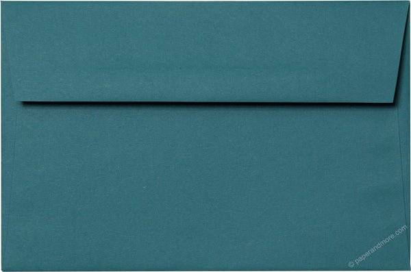 A-9 Teal Solid Envelopes (5 3/4