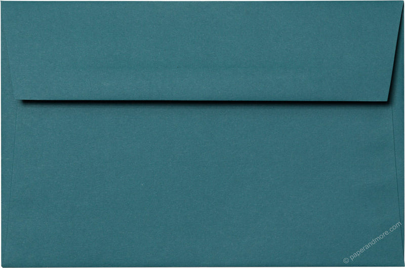 "A-9 Teal Solid Envelopes (5 3/4"" x 8 3/4"") - Paperandmore.com"
