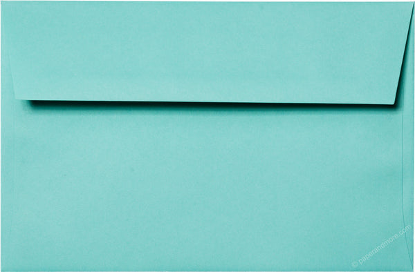 "A-9 Tiffany Blue Solid Envelopes (5 3/4"" x 8 3/4"") - Paperandmore.com"