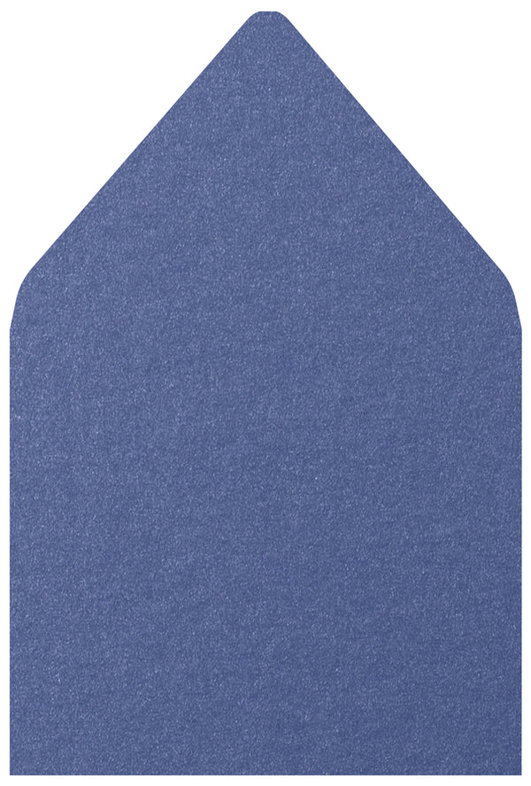 A-7.5 Blueprint Blue Metallic - Euro Flap Envelope Liner