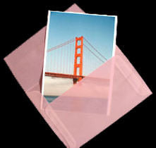 "A-2 Blush Pink Translucent Vellum Envelopes (4 3/8"" x 5 3/4"") - Paperandmore.com"