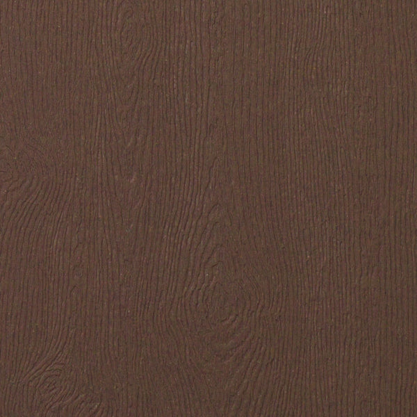 Bubinga Brown Embossed Wood Grain Paper 68# Text, 8 1/2