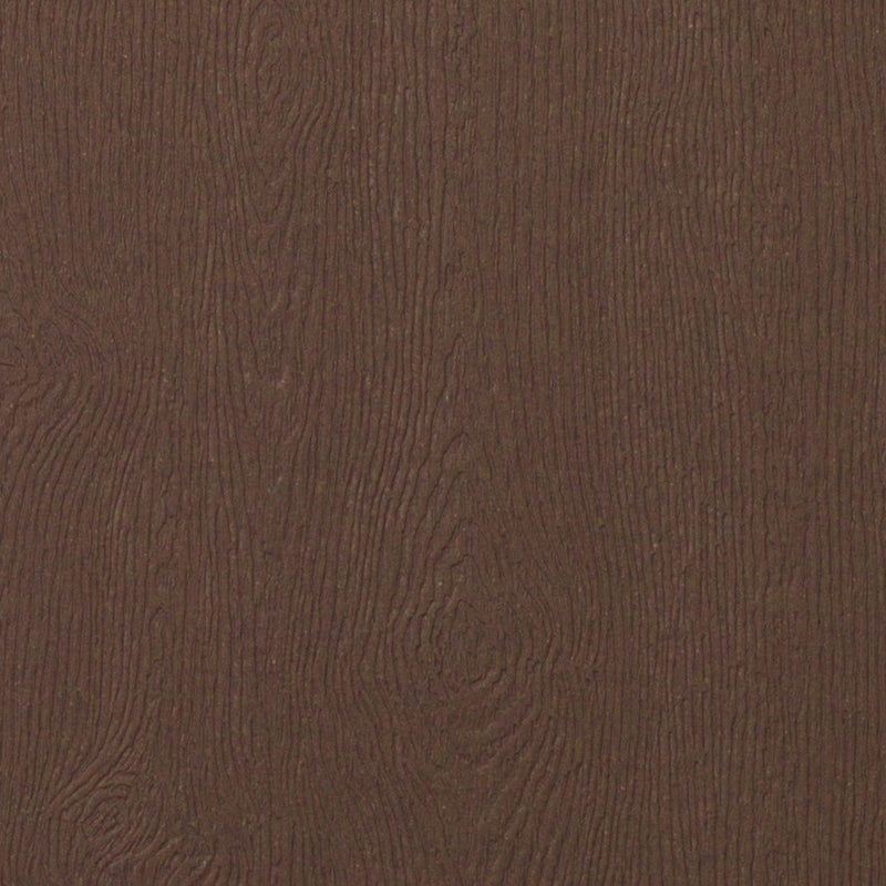 "Bubinga Brown Embossed Wood Grain Monogram Squares - 2 1/4"" - Paperandmore.com"
