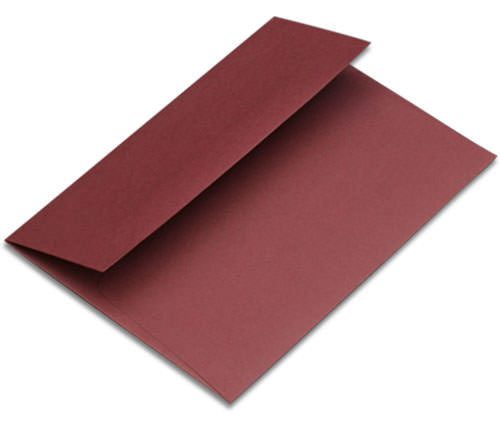 "A-2 Burgundy Solid Envelopes (4 3/8"" x 5 3/4"") - Paperandmore.com"