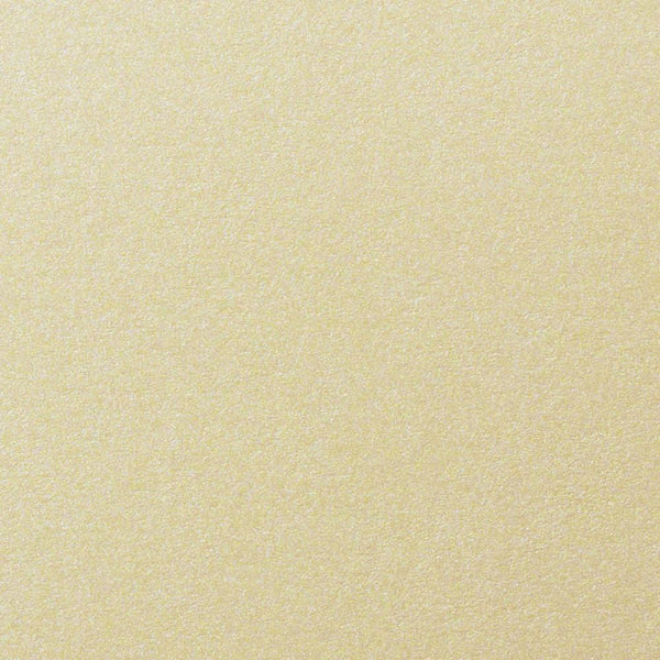 Champagne Cream Metallic Paper 80 lb Text, 8 1/2