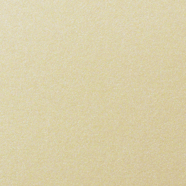 "Champagne Cream Metallic Card Stock 107 lb, 8 1/2"" x 11"" - Paperandmore.com"