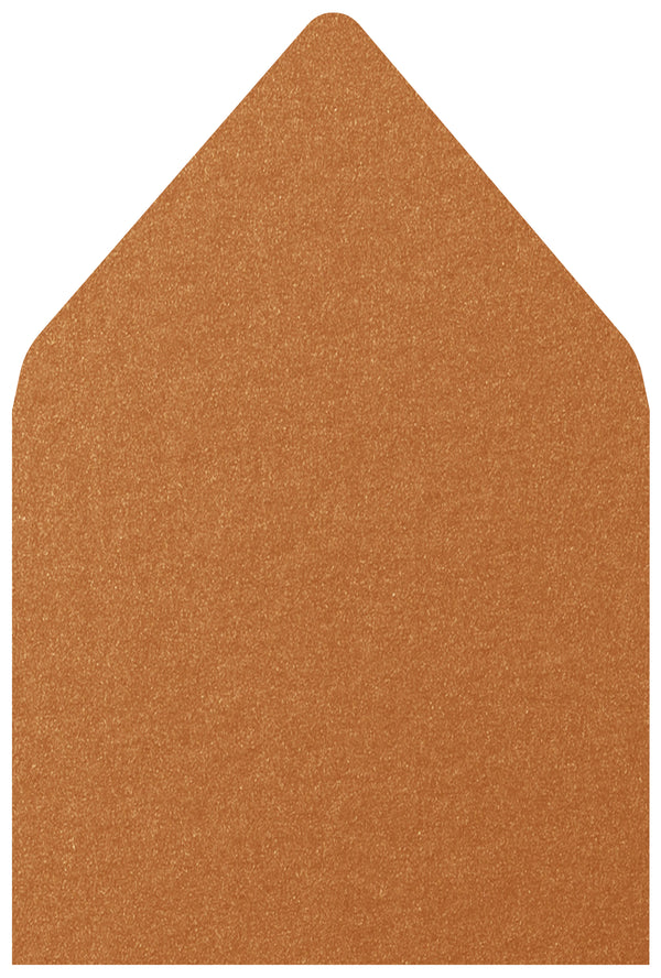 A-7.5 Copper Metallic - Euro Flap Envelope Liner