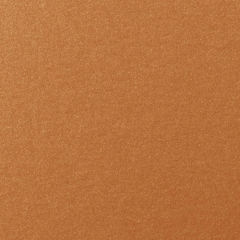 Copper Metallic Card Stock 105#, A9 Flat Card - Paperandmore.com