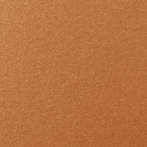 "Copper Metallic Card Stock 105#, 12"" x 12"" - Paperandmore.com"