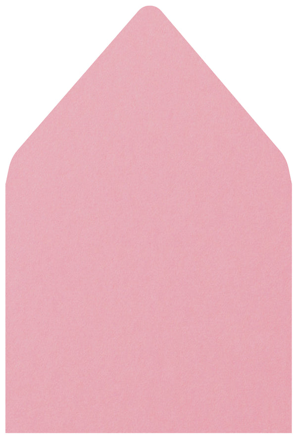 A-7.5 Cotton Candy Pink Solid - Euro Flap Envelope Liner