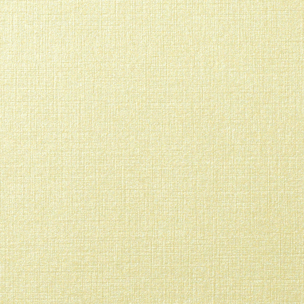 Metallic Cream Linen Monogram Squares - 2 1/4""