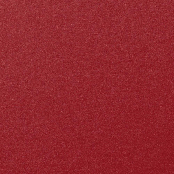Crimson Red Metallic Card Stock 105 lb, 8 1/2