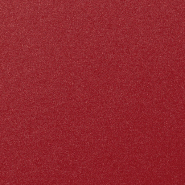 "Crimson Red Metallic Card Stock 105#, 12"" x 12"" - Paperandmore.com"